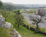 Looking down towards Settle.